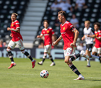 18th July 2021; Pride Park, Derby, East Midlands; Pre Season Friendly Football, Derby County versus Manchester United; Nemanja Matic of Manchester United
