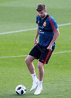 Spain's Gerard Pique during training session. May 31,2018.(ALTERPHOTOS/Acero) /NortePhoto.com