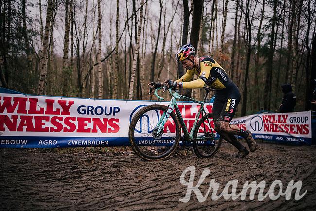 Wout van Aert (BEL/Jumbo-Visma)<br /> <br /> Men's Race at the X2O Herentals Cross 2020 (BEL)<br /> <br /> ©kramon