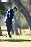SAN ANTONIO, TX - FEBRUARY 19-20, 2007: The University of Texas at San Antonio Intercollegiate Men's Golf Tournament at Oak Hills Country Club. (Photo by Jeff Huehn)