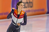 28th December 2020; Thialf Ice Stadium, Heerenveen, Netherlands; World Championship Speed Skating; 1000m ladies, Suzanne Schulting during the WKKT