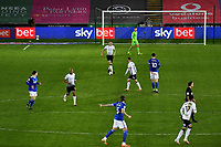 Ryan Bennett of Swansea City in action during the Sky Bet Championship match between Swansea City and Cardiff City at the Liberty Stadium in Swansea, Wales, UK. Saturday 20 March 2021