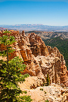 """Red Canyon Utah. Artist signed, limited edition fine art print from the American Splendor series.  Photographed in the American National Parks. Custom edited by the artist, and printed on professional artist canvas. Framed in a custom black wood floater frame.  Size 24x36"""" plus frame.<br /> Price $500<br /> Other proportionate sizes may be available on custom order."""
