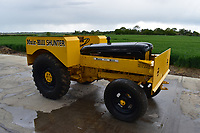 BNPS.co.uk (01202) 558833. <br /> Pic: Cheffins/BNPS<br /> <br /> Pictured: Muir-Hill Shunter 4cylinder diesel tractor sold for £17,700. <br /> <br /> A farming family is today celebrating after their incredible collection of almost 100 vintage tractors sold for a staggering £1million.<br /> <br /> Father and son duo Ian and Martin Liddell began hoarding the agricultural vehicles at their arable farm in the 1980s.<br /> <br /> Their fleet of tractors was so large that they had to be stored in three barns.<br /> <br /> The prized collection sparked a worldwide bidding war when it was sold with auctioneers Cheffins, of Cambridge, after the family decided to part with the tractors to free up space on their Essex farm to pursue other projects.