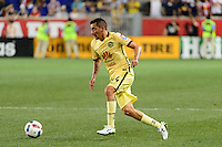 Harrison, NJ - Wednesday July 06, 2016: Rubens Sambueza during a friendly match between the New York Red Bulls and Club America at Red Bull Arena.