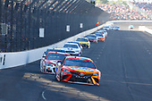 Monster Energy NASCAR Cup Series<br /> Brickyard 400<br /> Indianapolis Motor Speedway, Indianapolis, IN USA<br /> Sunday 23 July 2017<br /> Matt Kenseth, Joe Gibbs Racing, Tide Pods Toyota Camry and Kyle Larson, Chip Ganassi Racing, Target Chevrolet SS<br /> World Copyright: Russell LaBounty<br /> LAT Images