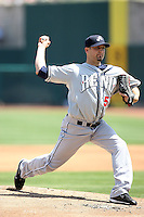 Kevin Mulvey, Reno Aces against the Sacramento RiverCats at Raley Field, Sacramento, CA - 04/18/2010.Photo by:  Bill Mitchell/Four Seam Images.