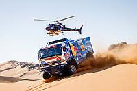 4th January 2021; Dakar Rally stage 2;  #507 Sotnikov Dmitry (rus), Akhmadeev Ruslan (rus), Akhmatzianov Ilgiz (rus), Kamaz, Kamaz - Master, Camion, Truck, action during the 2nd stage of the Dakar 2021 between Bisha and Wadi Al Dawasir, in Saudi Arabia on January 4, 2021