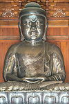China, Shangahi, Jing'an Temple Buddha