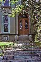 St. Louis: House, Lafayette Ave. Front entrance. Photo '78.