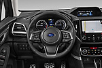 Car pictures of steering wheel view of a 2019 Subaru Forester e-Boxer-Premium 5 Door SUV Steering Wheel