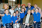Presentation Primary school, Tralee held their Grandparents day last Tuesday, Feb 11, with a 20 minute music and song concert by the pupils and pictured after were a ;large group in the hall of the school.