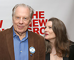 """Michael McKean and Annette O'Toole attends the New Group World Premiere of """"The True"""" on September 20, 2018 at The Green Fig Urban Eatery in New York City."""