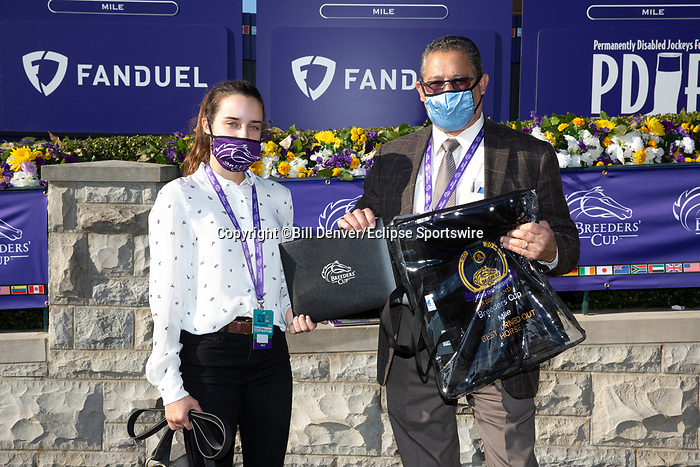 November 7, 2020 : Best Turned Out horse, FanDuel Mile presented by PDJF on Breeders' Cup Championship Saturday at Keeneland Race Course in Lexington, Kentucky on November 7, 2020. Bill Denver/Eclipse Sportswire/Breeders' Cup/CSM