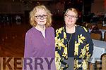 June Cournane and Hannah Lynch enjoying the Bon Jovee fundraiser in the Brandon Hotel on Saturday.