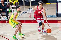 Stanford Basketball M v University of Oregon, February 25, 2021