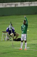 Campinas (SP), 20/11/2020 - Guarani-Botafogo - Junior Todinho comemora gol do Guarani. Partida entre Guarani e Botafogo válida pela 22ª rodada do Campeonato Brasileiro da Série B no estádio Brinco de Ouro em Campinas, interior de São Paulo, nesta sexta-feira (20).