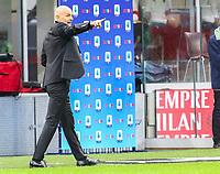 Milano 07-02-2021<br /> Stadio Giuseppe Meazza<br /> Serie A  Tim 2020/21<br /> Milan - Crotone nella foto:   Stefano Pioli Allenatore Milan                                                       <br /> Antonio Saia Kines Milano