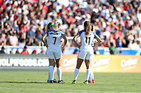 Cary, NC - Sunday October 22, 2017: U.S. Soccer during an International friendly match between the Women's National teams of the United States (USA) and South Korea (KOR) at Sahlen's Stadium at WakeMed Soccer Park. The U.S. won the game 6-0.
