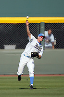 April 3 2010: Brett Krill of the UCLA Bruins during game against the Stanford Cardinal at UCLA in Los Angeles,CA.  Photo by Larry Goren/Four Seam Images