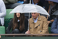 Philippe Caroit watching tennis during Roland Garros tennis open 2016 on may 29 2016.