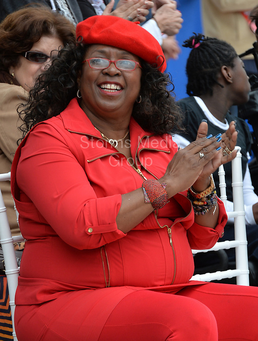 MIAMI, FL - DECEMBER 09: Betty Wright attends the ''Annie'' Walk of Fame ceremony at Bayfront Park Miami on December 9, 2014 in Miami, Florida<br /> <br /> People:  Betty Wright