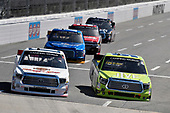 NASCAR Camping World Truck Series<br /> Alpha Energy Solutions 250<br /> Martinsville Speedway, Martinsville, VA USA<br /> Saturday 1 April 2017<br /> Timothy Peters and Grant Enfinger<br /> World Copyright: Nigel Kinrade/LAT Images<br /> ref: Digital Image 17MART1nk04460