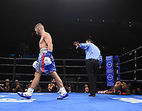ONTARIO, CA - DECEMBER 21: Petr Khamukov v Maceo Crowder on the Fox Sports PBC Fight Night at Toyota Arena on December 21, 2019 in Ontario, California. (Photo by Frank Micelotta/Fox Sports/PictureGroup)