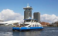 Nederland Amsterdam 2016 . IJveer 56 van Amsterdam Centrum naar Amsterdam Noord. Foto Berlinda van Dam / Hollandse Hoogte