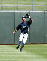 Franklin Gutierrez-  Seattle Mariners - 2009 spring training.Photo by:  Bill Mitchell/Four Seam Images