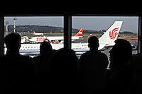 Aviões no aeroporto de Cumbica. São Paulo. 2011. Foto de Juca Martins.