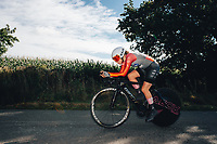 6th October 2021 Womens Cycling Tour, Stage 3. Individual Time Trial; Atherstone to Atherstone. Connie Hayes.
