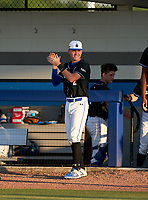 IMG Academy Ascenders Blaydon Plain (12) during a game against the Jesuit Tigers on April 21, 2021 at IMG Academy in Bradenton, Florida.  (Mike Janes/Four Seam Images)
