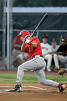 Mike Trout - AZL Angels (2009 Arizona League)..Photo by:  Bill Mitchell/Four Seam Images..