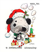 GIORDANO, CHRISTMAS ANIMALS, WEIHNACHTEN TIERE, NAVIDAD ANIMALES, paintings+++++,USGI721,#XA#