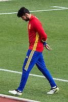 Spainsh Diego Costa during the training of the spanish national football team in the city of football of Las Rozas in Madrid, Spain. November 09, 2016. (ALTERPHOTOS/Rodrigo Jimenez) ///NORTEPHOTO.COM