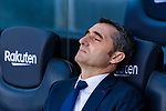 Coach Luis Ernesto Valverde Tejedor of FC Barcelona is seen prior to the La Liga 2018-19 match between FC Barcelona and Real Betis at Camp Nou, on November 11 2018 in Barcelona, Spain. Photo by Vicens Gimenez / Power Sport Images