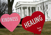 FEB 12 The White House is Decorated for Valentine's Day