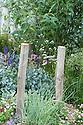 """Coastal Drift"" show garden, designed by Susan Willmott and Adele Ford, Hampton Court Flower Show 2012."