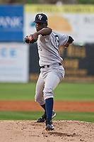 Pitcher Jose A. Ramirez #29 of the Tampa Yankees during the game against the Daytona Cubs at Jackie Robinson Ballpark on April 19, 2012 in Daytona Beach, Florida. (Scott Jontes / Four Seam Images)