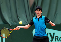 Wateringen, The Netherlands, March 16, 2018,  De Rhijenhof , NOJK 14/18 years, Nat. Junior Tennis Champ. Alfrendo Vogelaar (NED)<br />  Photo: www.tennisimages.com/Henk Koster