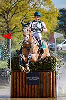IRL-Sam Watson rides Tullabeg Flamenco during the ERM CCI-S4* Cross Country. 2019 GBR-Dodson and Horrell Chatsworth International Horse Trial. Sunday 12 May. Copyright Photo: Libby Law Photography