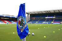 26th December 2020; Ewood Park, Blackburn, Lancashire, England; English Football League Championship Football, Blackburn Rovers versus Sheffield Wednesday; a view of the pitch prior to the kick off