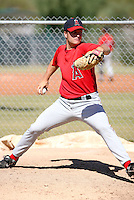 Ryan Brasier / Los Angeles Angels 2008 Instructional League..Photo by:  Bill Mitchell/Four Seam Images