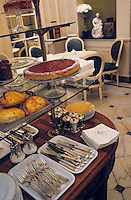 """Europe/France/Nord-Pas-de-Calais/59/Nord/Lille: Salon de thé de la pâtisserie confiserie """"Méert"""" classée monument historique 27 rue Esquermoise"""