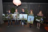FIERLJEPPEN: DRACHTEN: ROC Friese Poort - FLB, uitreiking klassementsprijzen, ©foto Martin de Jong