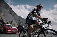 Serge Pauwels (BEL/Dimension Data) up the Col d'Izoard (HC/2360m/14.1km/7.3%)<br /> <br /> 104th Tour de France 2017<br /> Stage 18 - Briancon › Izoard (178km)