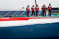2nd September 2021: Circuit Zandvoort,  Zandvoort, Netherlands;   trackwalk GIOVINAZZI Antonio ita, Alfa Romeo Racing ORLEN C41 arrives for the Formula 1 Heineken Dutch Grand Prix 2021, 13th round of the 2021 FIA Formula One World Championship