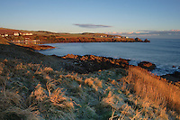Coldingham Sands and St Abbs from the Berwickshire Coastal Path, Scottish Borders<br /> <br /> Copyright www.scottishhorizons.co.uk/Keith Fergus 2011 All Rights Reserved