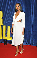"""Sabrina Dhowre at the 65th BFI London Film Festival """"The Harder They Fall"""" opening gala,Royal Festival Hall, Belvedere Road, on Wednesday 06th October 2021, in London, England, UK. <br /> CAP/CAN<br /> ©CAN/Capital Pictures"""